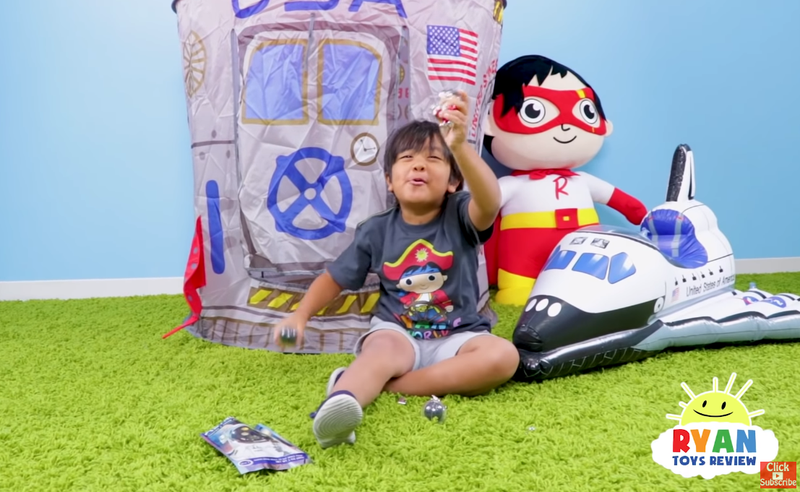 全球最吸金YouTuber 7歲童靠玩玩具變億萬富翁