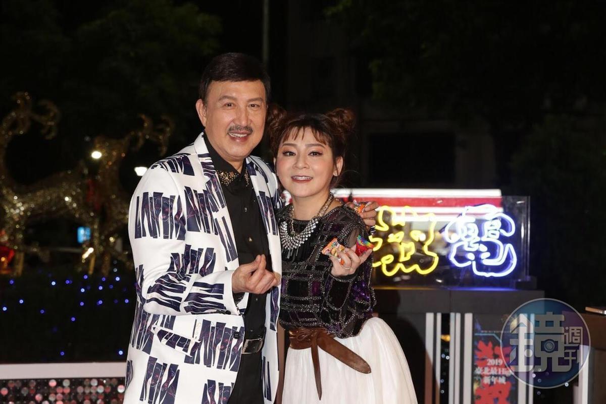 余天與王彩樺出席活動,也透露正參與處理安迪身後事宜。