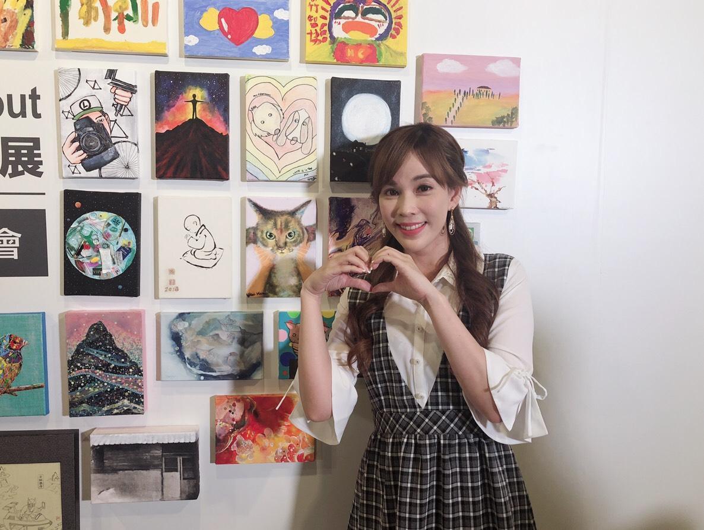 劉涵竹的「麻糬白月光」竟然飆出了12,800元的最高價,讓她開心不已。(張洛君提供)