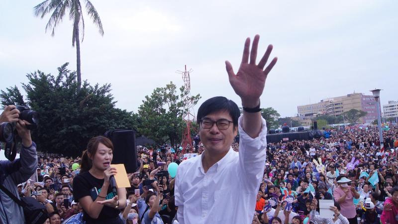 陳其邁「人氣爆表」 可望登記參選黨主席