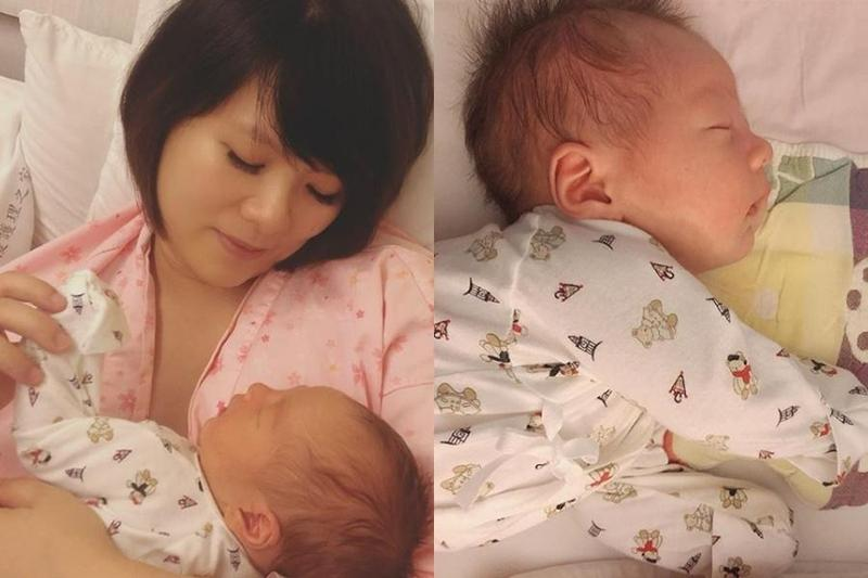 蘇打綠馨儀曬母子照 生產折騰24小時哭不出來