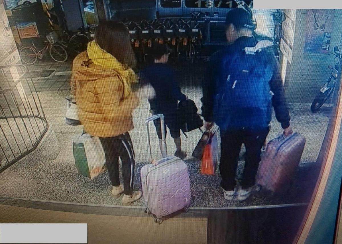 越南脫團旅客集體離開飯店後逃逸。(移民署提供)