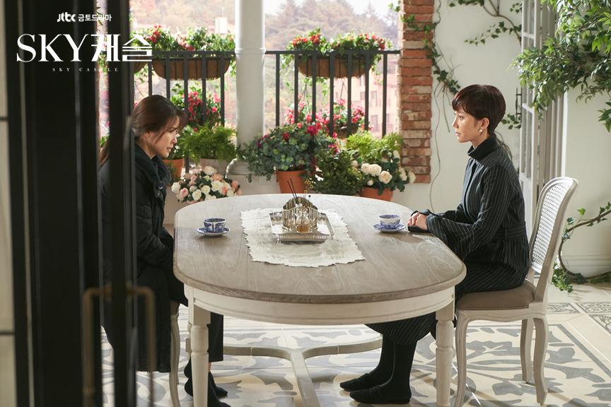 《天空之城》從第一集收視率不到2%,第19集已衝到23.216%新高度。(翻攝自JTBC官網)