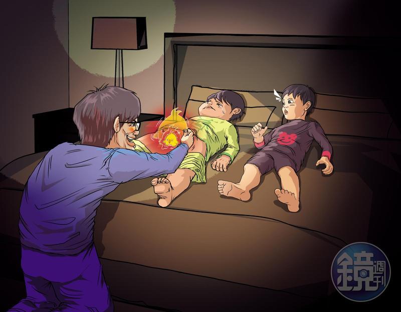 名醫狠父手握2大利器 小孩痛苦淪禁臠