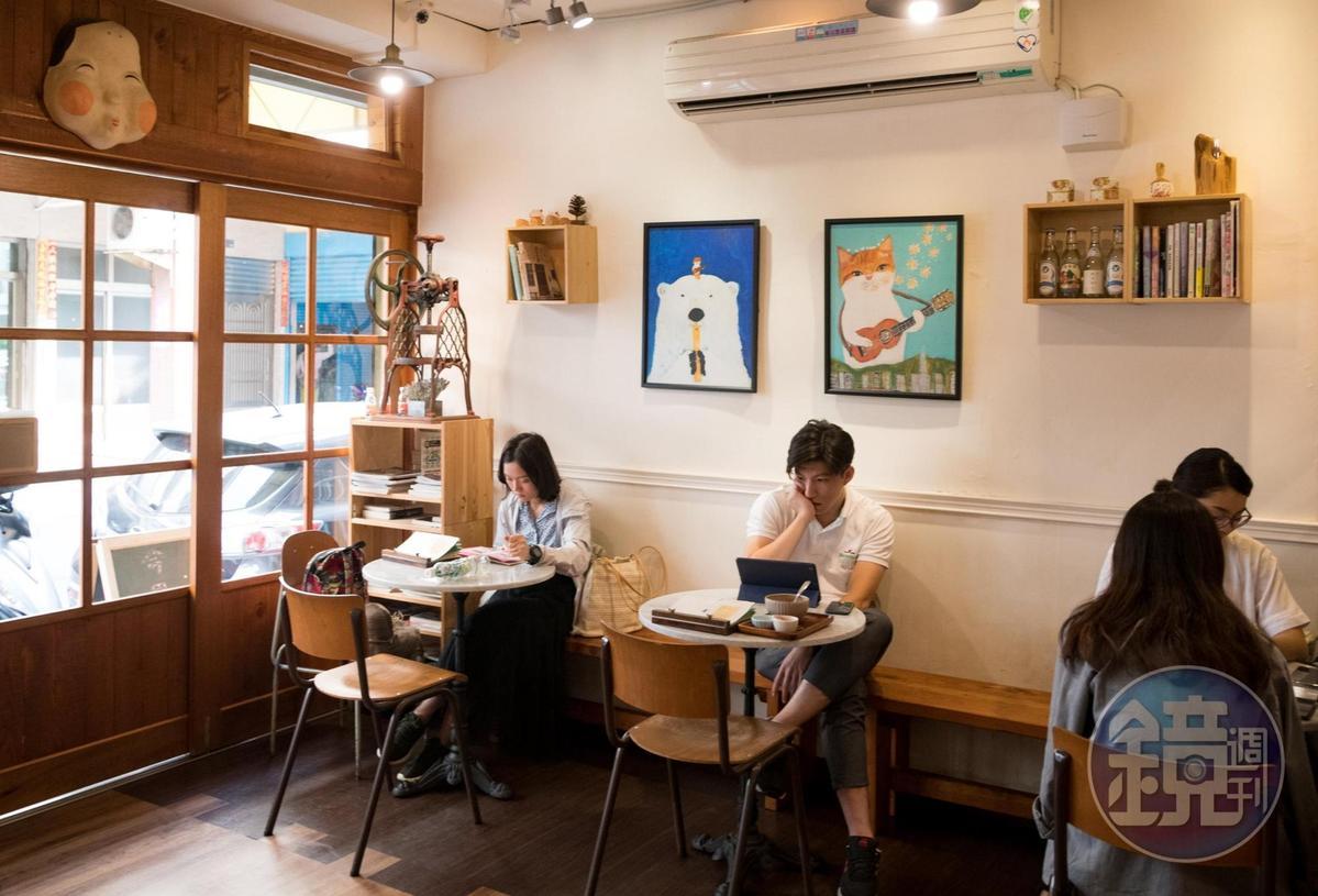 受在地年輕人喜愛的「小秘密」日式刨冰店。