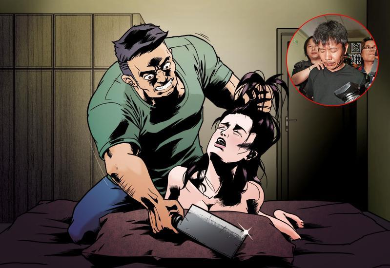 圖/鏡週刊 雙手雙腳反綁殺紅眼! 渣男性侵寡婦...23刀斷頭