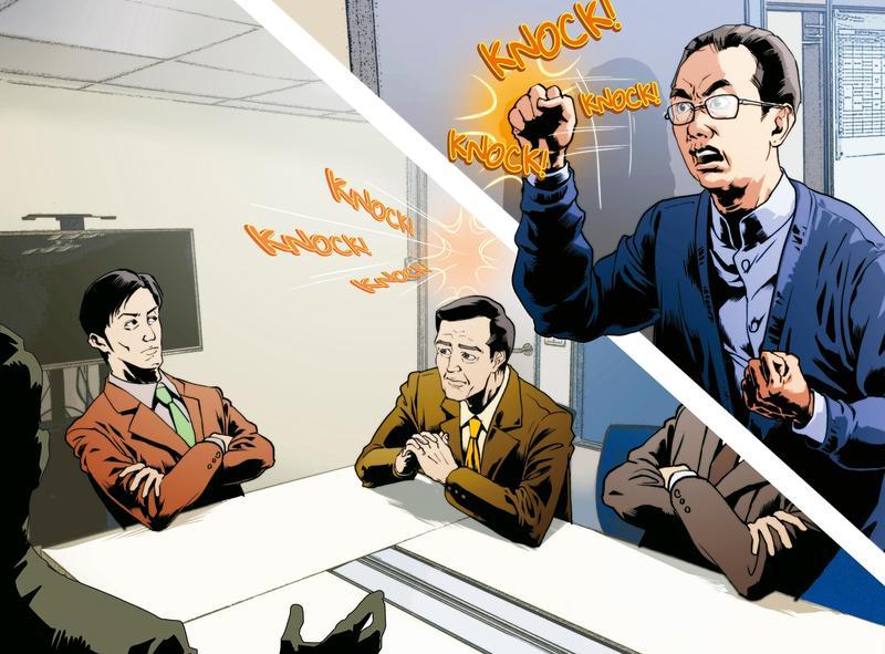 圖/鏡週刊 揭長榮家族內鬨醜聞 老三張國政被擋門外:發飆狂敲門