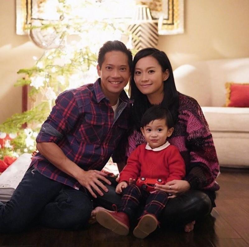 楊愛瑾常在IG曬幸福的家庭照。(翻攝自IG)
