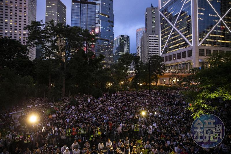 圖/鏡週刊提供 香港公務員站出來! 5大訴求聲援抗議者