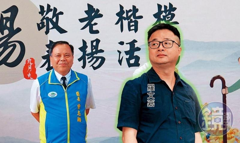 圖/鏡週刊提供 「歡迎共產黨領導」 羅文嘉找來傾中黨工
