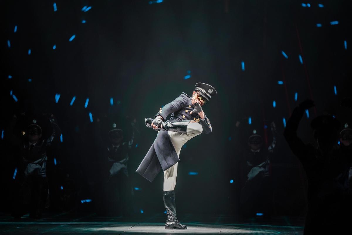 郭富城蓄勢待發,等待《舞林密碼》世界巡演台北場。(開麗娛樂提供)