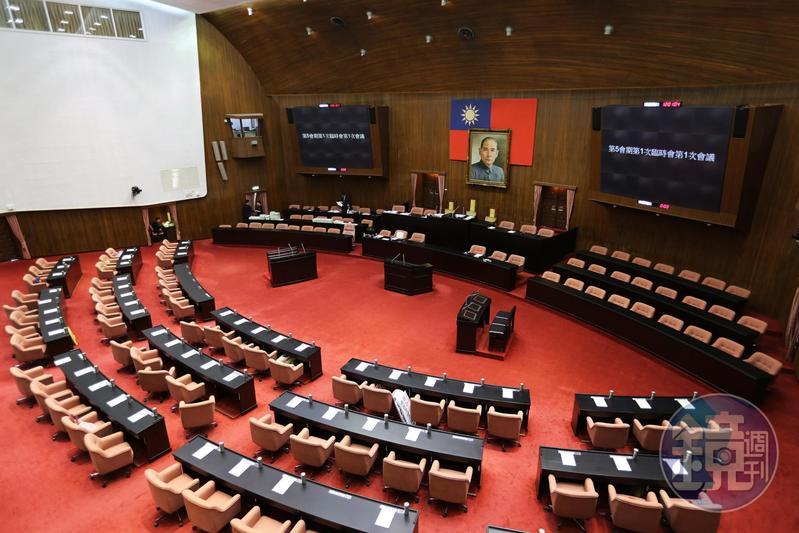立法院預算書出爐 估明年4政黨可組黨團