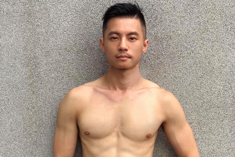 圖/鏡週刊提供 遭毒蟲指是「供貨人」 肌肉男臨演被逮認了吸食