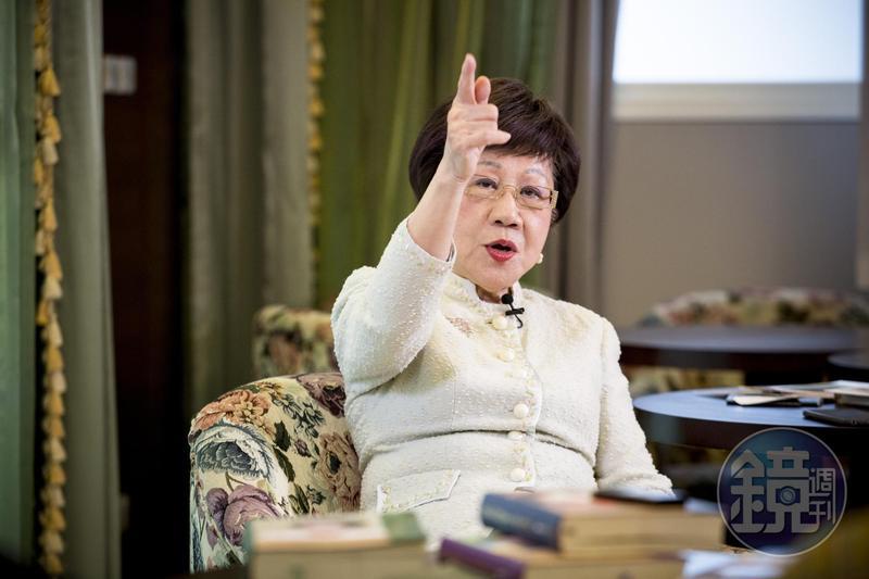 趕在郭台銘之前 呂秀蓮深夜宣布參選總統