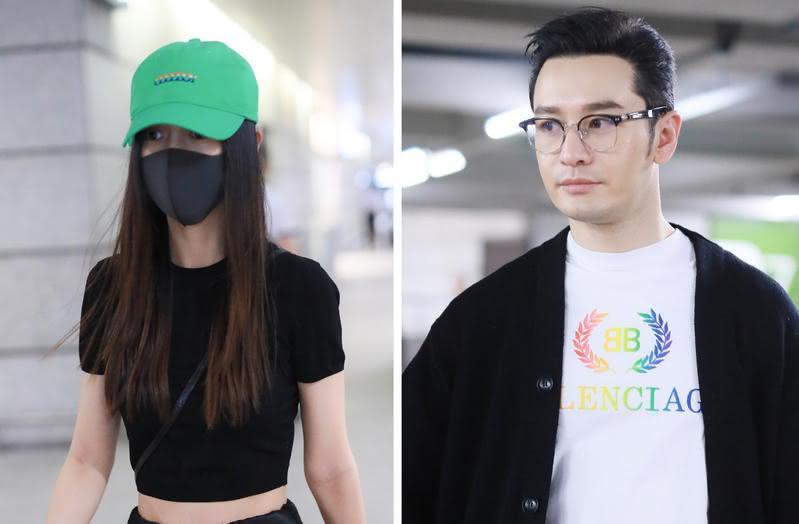 圖/鏡週刊 黃曉明與baby離婚傳言再起 死不認原因遭起底