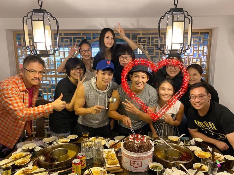 圖/鏡週刊提供 威廉與卓君澤相戀2年 共度33歲生日