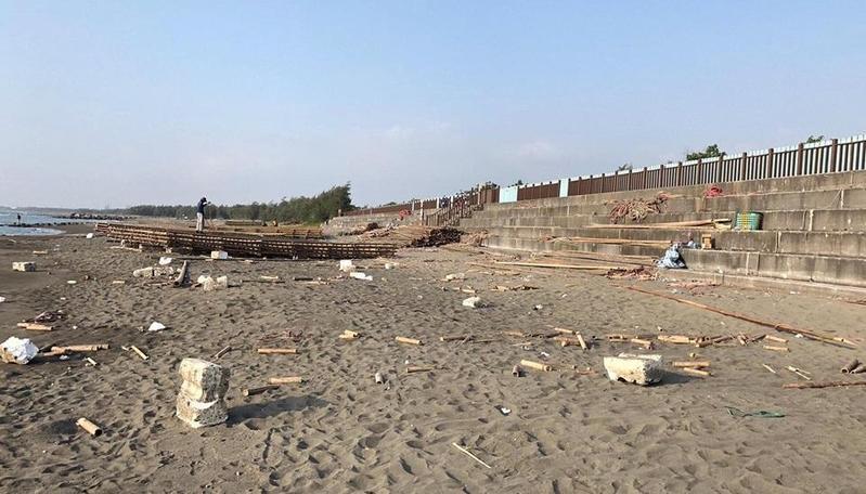 韓國瑜想淨灘垃圾前一天被撿光 真相曝光了