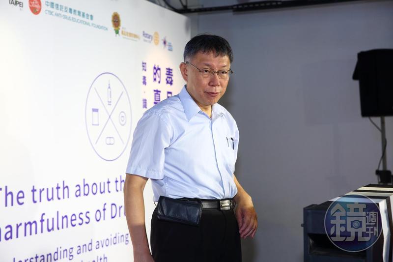 圖/鏡週刊提供 韓國瑜狂搶話語權 柯:不講民調還比較高