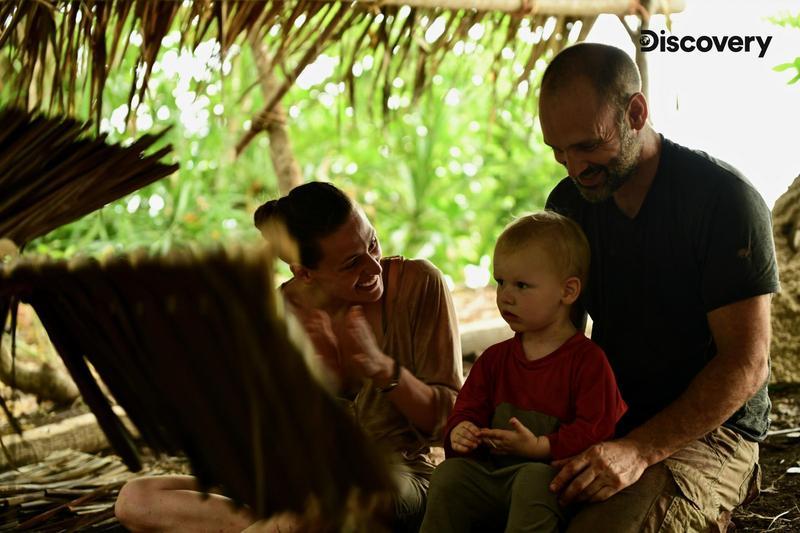 一家三口在無人島過30天 小孩考倒探險家爸媽