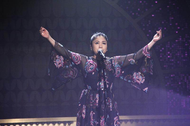圖/鏡週刊 夏川里美現場演唱功力無瑕疵 連他都讚「鄧麗君後第一」