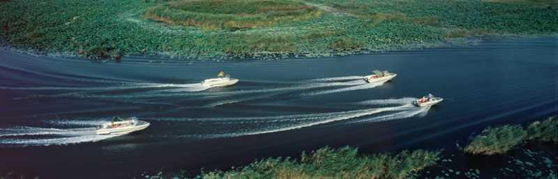 棗莊紅河濕地(圖由山東旅遊局提供)