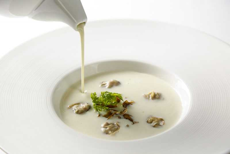 蒜香蛤蠣濃湯(公關圖片)