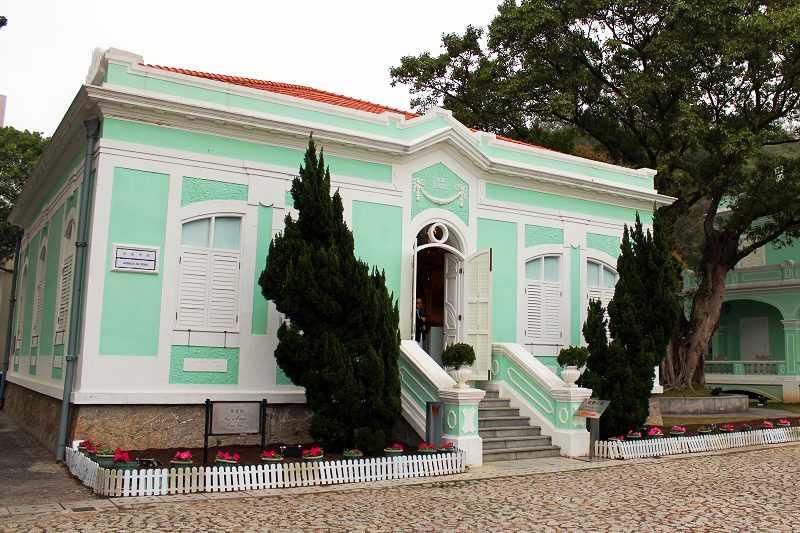 《龍環葡韻住宅式博物館》五棟建築目前皆開放參觀。