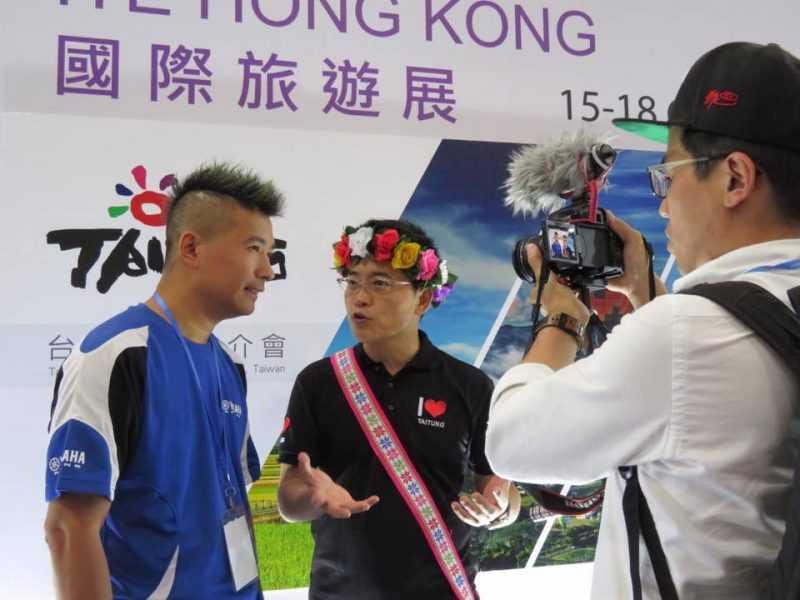 臺東旅遊推介會人氣極旺,現場超過80家以上的媒體、業者熱情參與(臺東縣府提供)