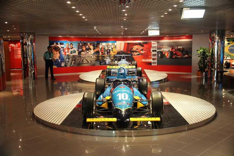 車神舒馬克1990年的冠軍賽車