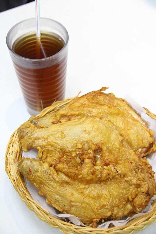 吃炸雞配涼茶只在澳門獨有