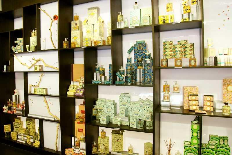 知名葡萄牙香氛品牌在澳門設置專門店。