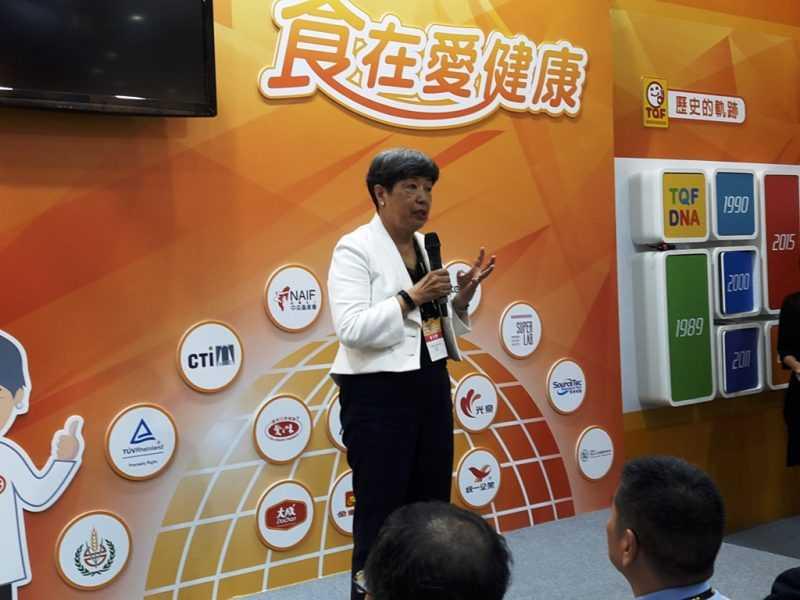 台灣優良食品發展協會理事長孫寶年
