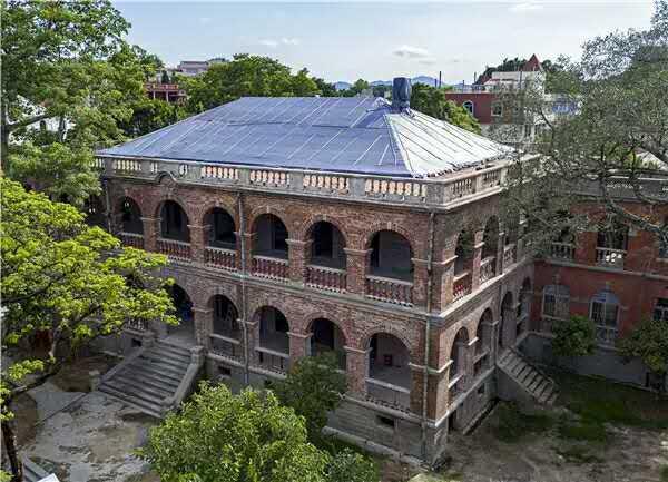 日本領事館舊址(福建海峽導報提供)