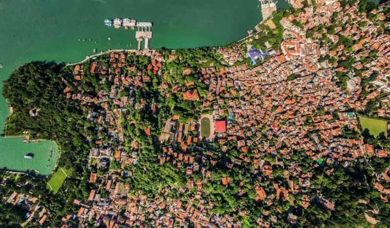 鼓浪嶼位於中國福建省廈門市西南隅,面積約1.88 平方公里(福建海峽導報提供)