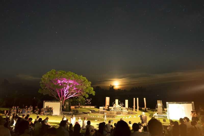 在月光與星光齊放的月光海音樂會(東管處提供)