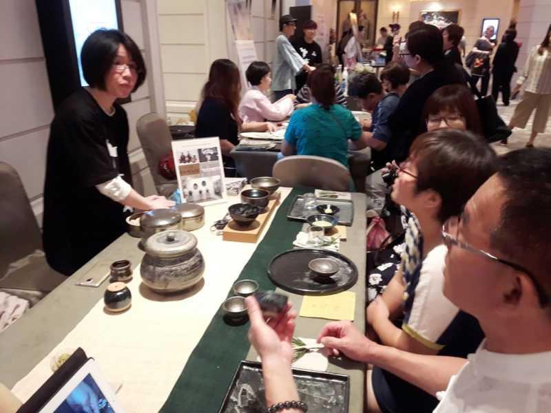 金時泳黑瓷韓國茶碗體驗