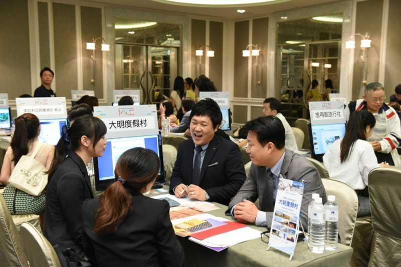 旅遊諮詢商談向台灣企業代表及民眾促銷不一樣的旅韓經驗