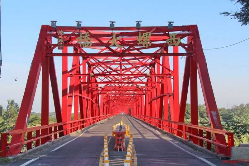 西螺大橋(飛虎常跑提供)