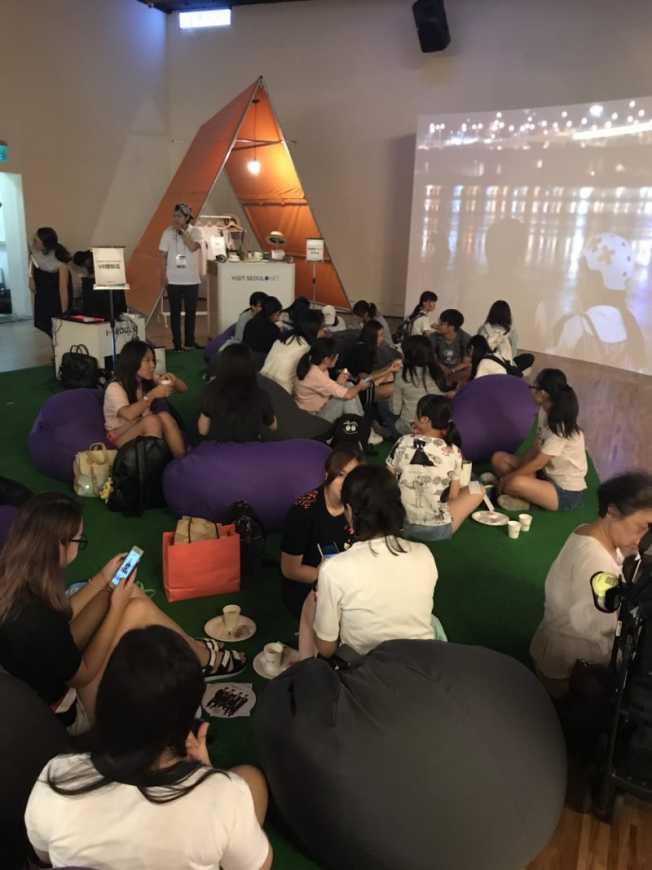 首爾面對面活動,精彩漢江風情視訊,擠爆誠品信義展演廳(公關圖片)
