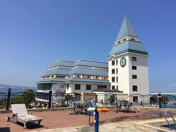 漁人碼頭的福容大飯店