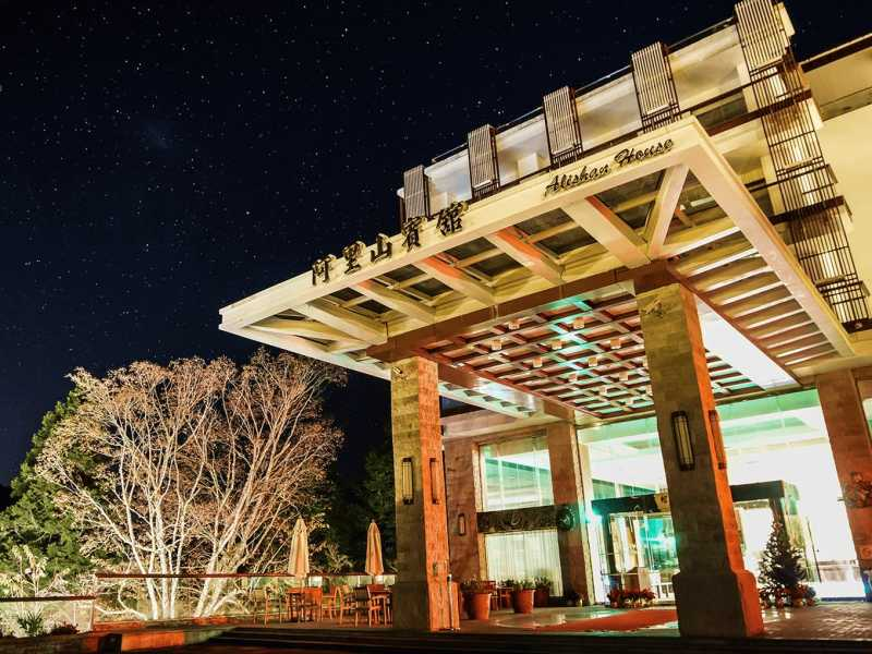 阿里山賓館於10.11月將是觀賞流星雨的最佳時機(公關圖片)