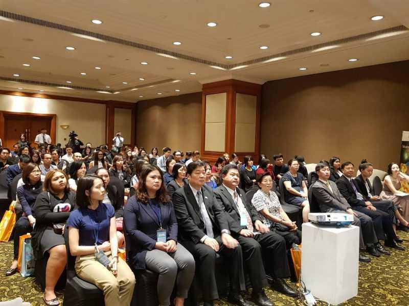 交流會場與會貴賓出席踴躍(台灣觀光遊樂區協會提供)