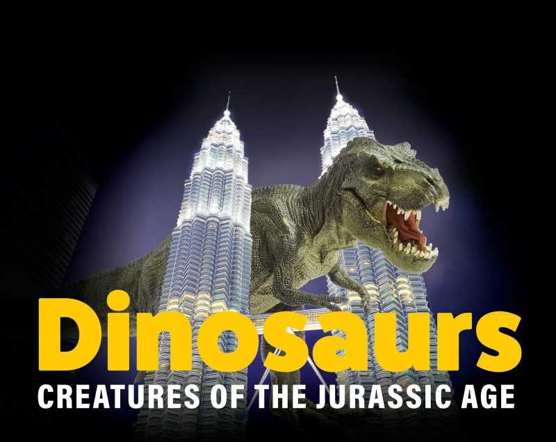 馬來西亞吉隆坡Dinosaurs Alive恐龍展(主辦單位提供)