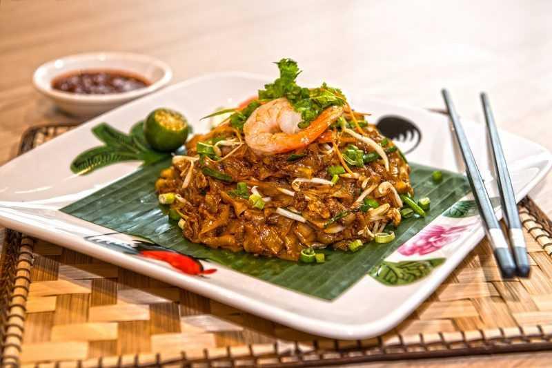 炒粿條是馬來西亞檳城潮州人的代表性美食(馬來西亞觀光局提供)