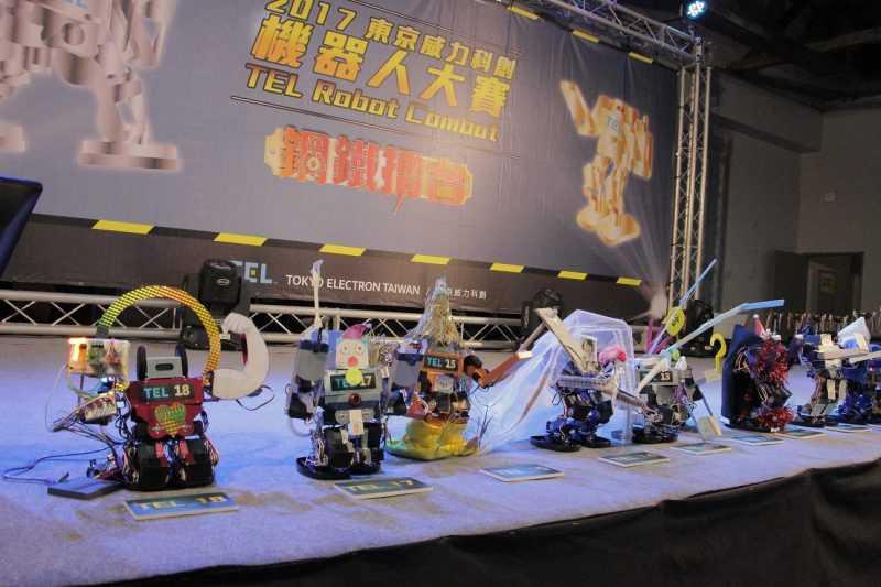機器人裝飾競賽(主辦單位提供)