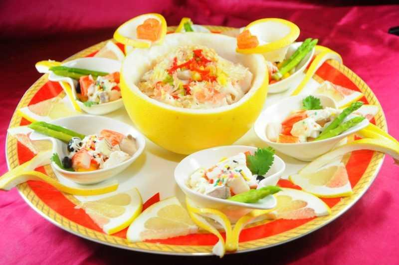 心蘭活魚餐廳-柚香雙味魚片