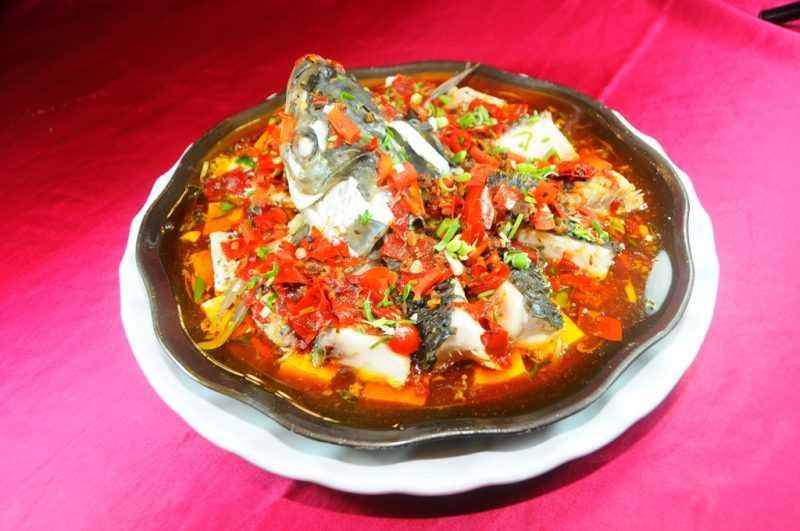 祥和園餐廳-川味辣椒魚