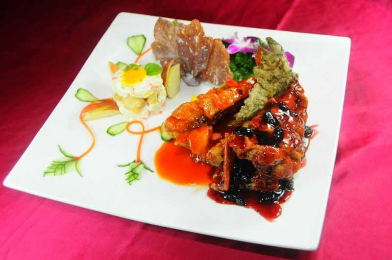 玉蘭活魚餐廳-蘭葉蘋香雙享炮