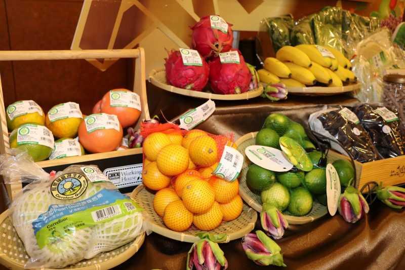 現場有大會之星及豐富的14大展銷專區,包含有機好米、珍蔬鮮果、國產星級茶與茶菓子、咖啡。