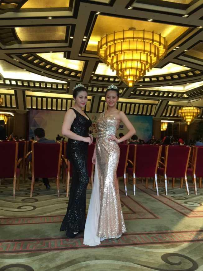 文德女中國際班學生「周泠霓(Linnie Chou)」在2017一帶一路國際模特大賽臺灣賽區總決賽中奪得少年組冠軍。